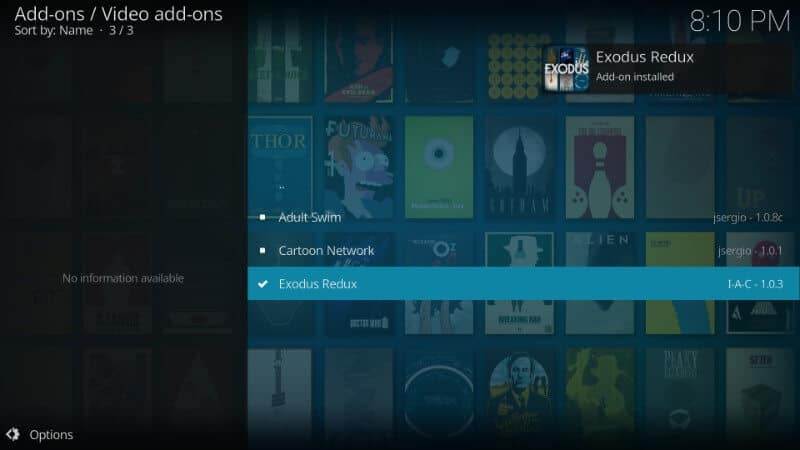 How to install Exodus Redux Addon on Kodi App - Why The Lucky Stiff