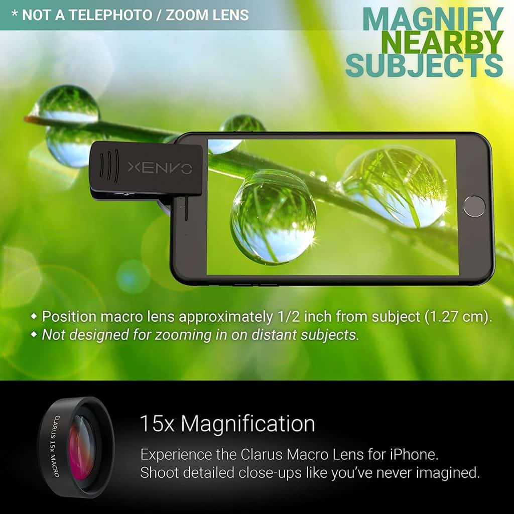 Best cell phone zoom lens