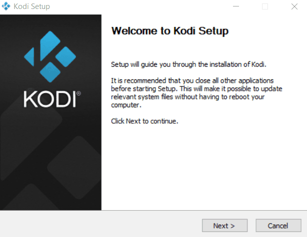 How to instlal Kodi on PC