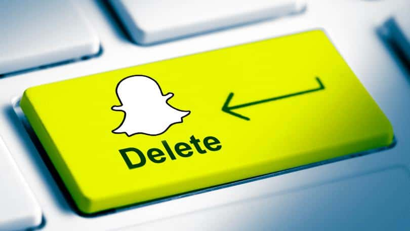 How to delete snapchat on iPhone