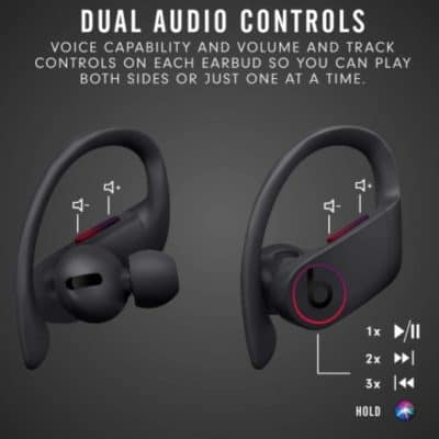 PowerBeats Pro Controls